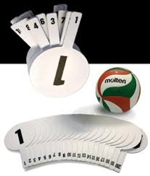 Picture of Volleyball Substitution Paddles