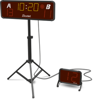 Picture of 3x3 BT6015 with Shot Clock