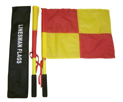 Picture of Linesman's Flag & Pole
