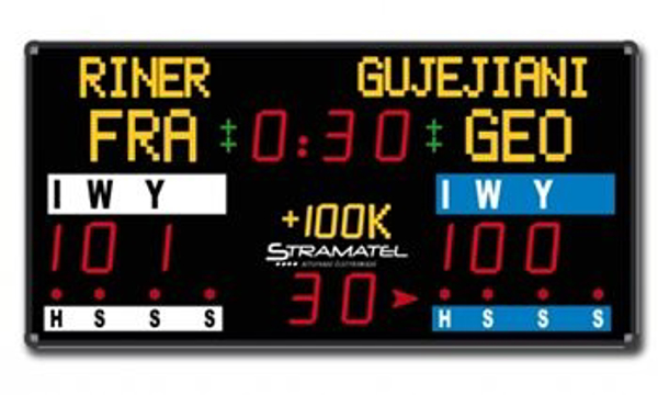 Picture of CJF Repeater Scoreboard