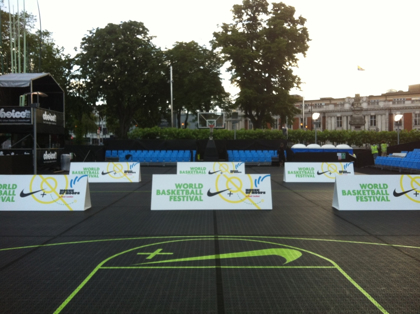 Picture of Courtside Advertising Boards