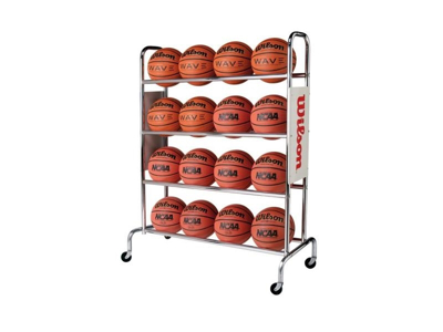 Picture of Wilson Deluxe Basketball Ball Rack