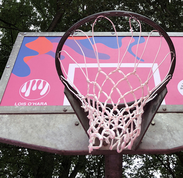 Picture of Outdoor Basketball Backboard Covering