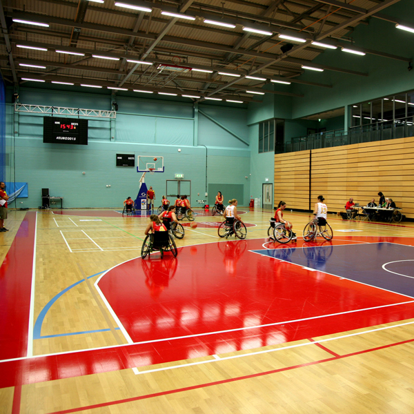 Picture of Perimeter, Key and Court Vinyl Covering