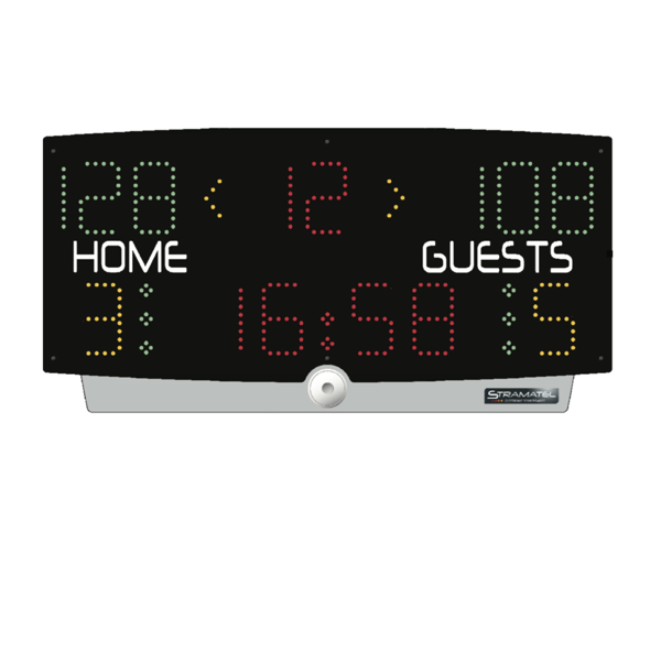 Picture of Stramatel MultiTop Eco Scoreboard With Integrated Shot Clock