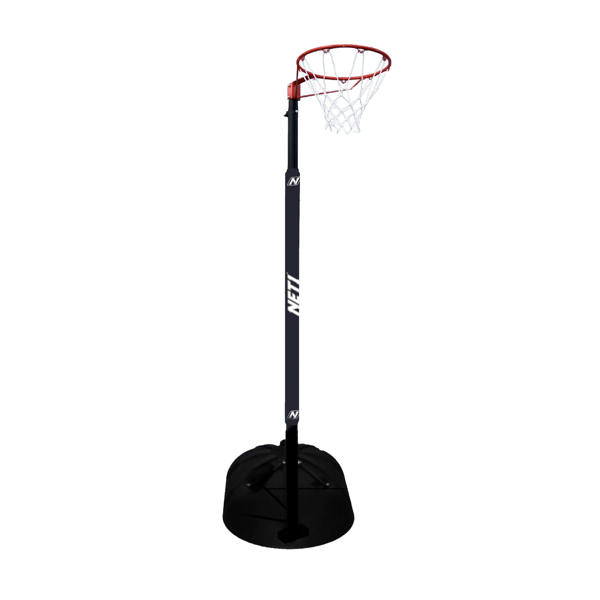 Picture of Black Portable Netball Hoop